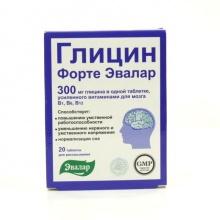Глицин-форте Эвалар таблетки для рассасывания №20