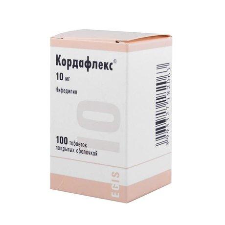 Кордафлекс таблетки 10 мг, 100 шт.