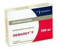 Леволет Р таблетки 500мг, 10шт