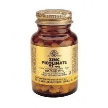 Солгар Пиколинат цинка таблетки, 100 шт.