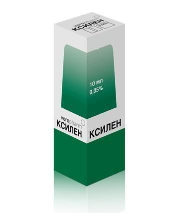 Ксилен фл.-кап.(капли наз.) 0,05% 10мл
