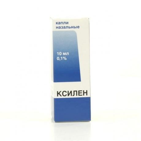 Ксилен фл.-кап.(капли наз.) 0,1% 10мл
