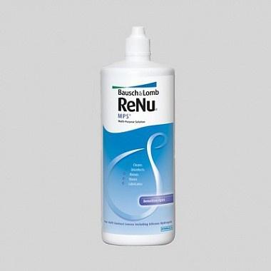 Раствор для контактных линз RENU MPS для чувствительных глаз, 240 мл