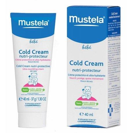 MUSTELA Bebe кольд-крем для детей для очень сухухой кожи, 40 мл