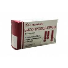Бисопролол-Прана таблетки 10 мг, 30 шт.