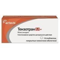 Тензотран таблетки 0,4 мг, 14 шт.