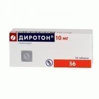 Диротон таблетки 10 мг, 56 шт.