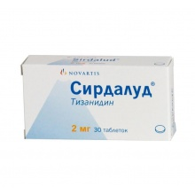 Сирдалуд таблетки 2 мг, 30 шт.