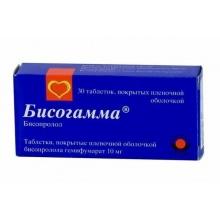 Бисогамма таблетки 10 мг, 30 шт.