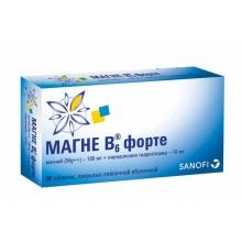 Магне B6 форте таблетки, 30 шт.