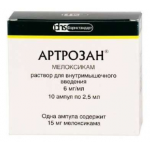 Артрозан ампулы 15 мг 2,5 мл, 10 шт.