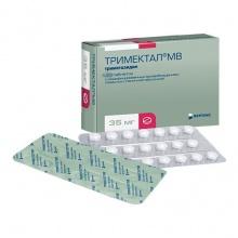 Тримектал МВ таблетки 35 мг, 120 шт.