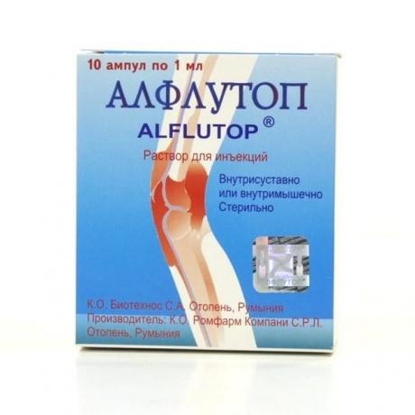 Алфлутоп ампулы 1мл №10