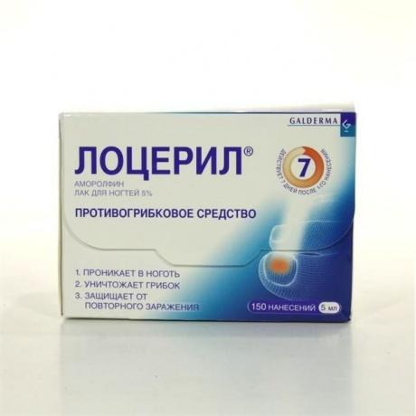 Лоцерил фл.(лак д/ногтей) 5% 5мл