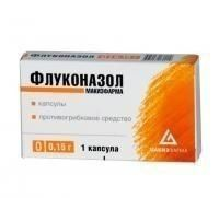 Флуконазол-Тева капсулы 150мг, 1 шт