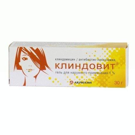Клиндовит гель для наружнного применения 1% 30г