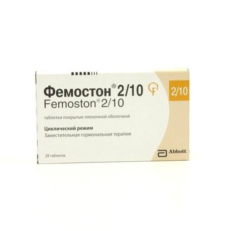 Фемостон 2/10 конти таблетки, 28 шт.