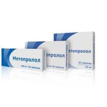 Метопролол таблетки 50 мг, 30 шт.