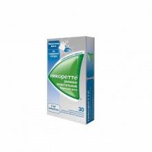 Никоретте Морозная мята резинка жевательная 2 мг, 30 шт.