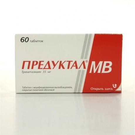 Предуктал 35 мг инструкция по применению цена.