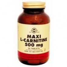 L-Карнитин Солгар таблетки 500 мг, 30 шт.