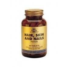 Солгар для кожи, ногтей и волос таблетки, 60 шт.