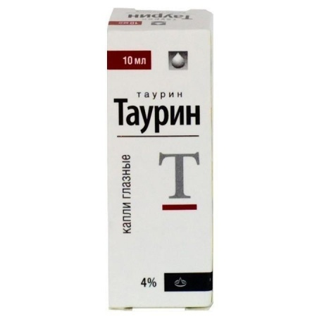 Таурин-ДИА флакон-капельница (капли глазные) 4%, 10 мл