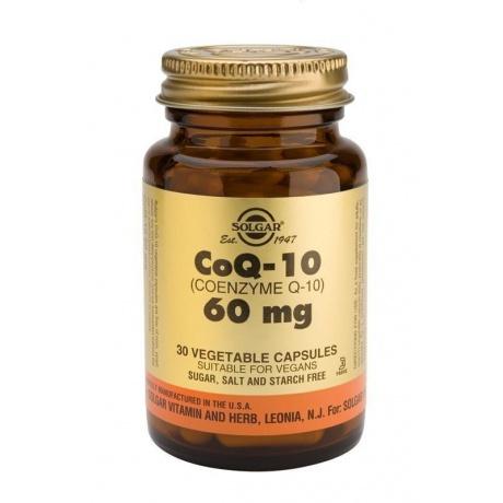 Солгар Коэнзим Q10 60 мг капсулы, 30 шт.