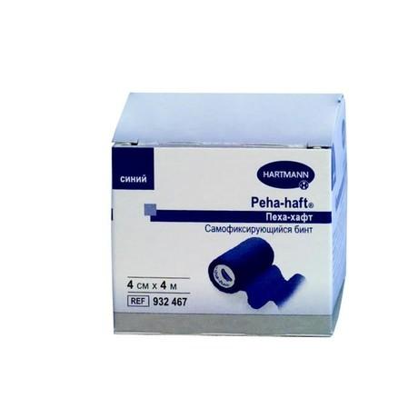 Бинт PEHA-HAFT самофиксирующийся 4м х 4см (синий)