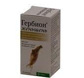 Гербион женьшень капсулы 350 мг, 30 шт.