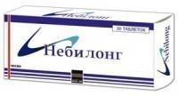 Небилонг таблетки 2,5 мг, 30 шт.