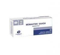 Мемантин Канон таблетки 10 мг, 30 шт.