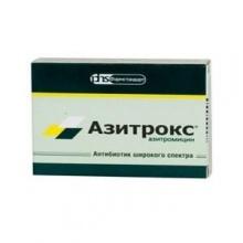 Азитрокс капсулы 500 мг, 2 шт.