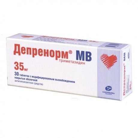 Депренорм МВ таблетки пролонг. действия 35 мг, 30 шт.