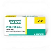 Финастерид-Тева таблетки 5 мг, 30 шт.
