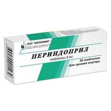 Периндоприл таблетки 8 мг, 30 шт.