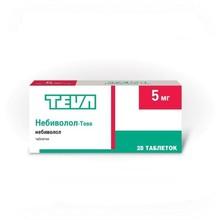 Небиволол-Тева таблетки 5 мг, 28 шт.