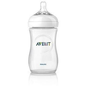 Бутылочка детская AVENT Natural для кормления 260мл (арт. 86595) , 2 шт.