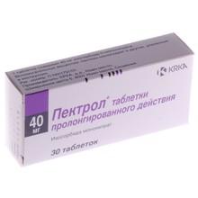 Пектрол таблетки ретард 60 мг, 30 шт.
