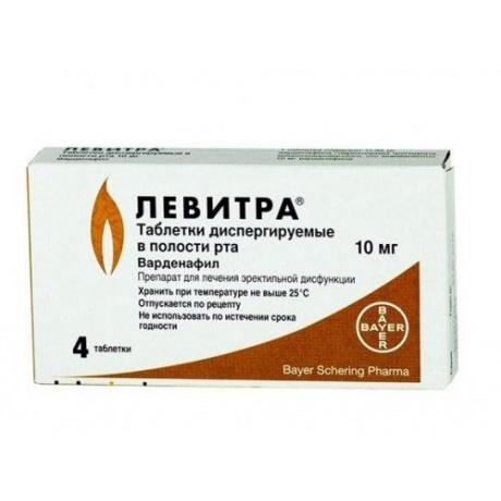 левитра 5 мг 4 in цена