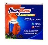 Анвимакс пакетики (порошок для раствора для приема внутрь) черная смородина 5 г, 6 шт.