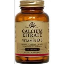 Солгар Цитрат кальция с витамином D3 таблетки, 60 шт.