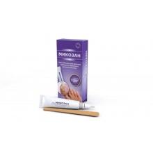 Микозан набор для удаления грибка с ногтей (сыворотка с кист.-аппликатор + пилочки)