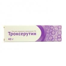 Троксерутин гель 2%, 40 г
