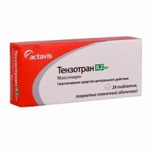 Тензотран таблетки 0,2 мг, 28 шт.