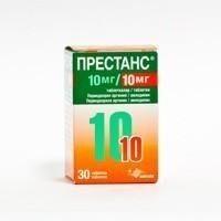 Престанс таблетки 10 мг+10 мг, 30 шт.