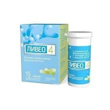 Ливео 4 капсулы 227 мг, 15 шт.