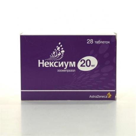 Нексиум таблетки 20 мг, 28 шт.