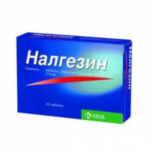 Налгезин таблетки 275 мг, 20 шт.