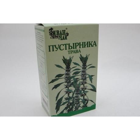 Пустырника трава пачка 50г